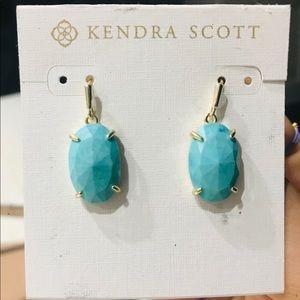 Kendra Scott Turquoise Drop Earrings
